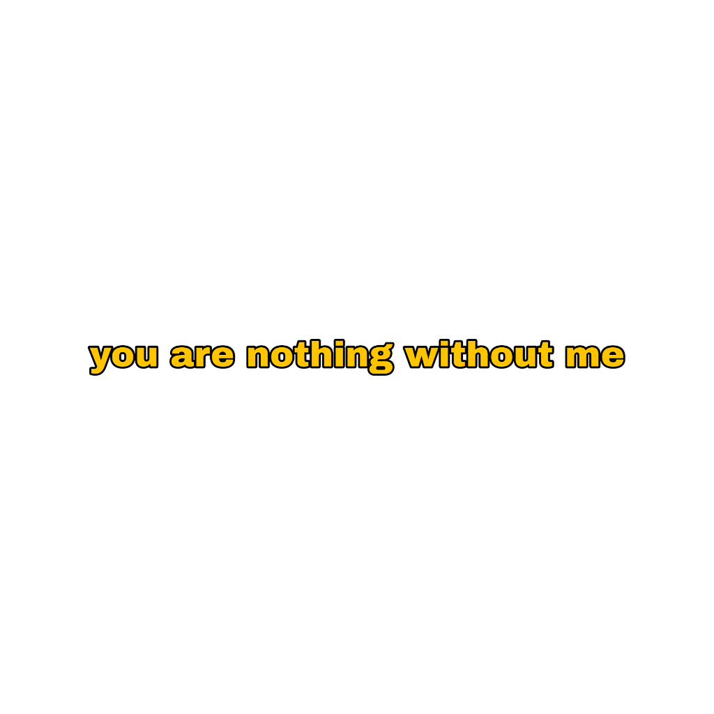 #star #hope #nothing #without #me #powerfulquote #quote #strong #yellow