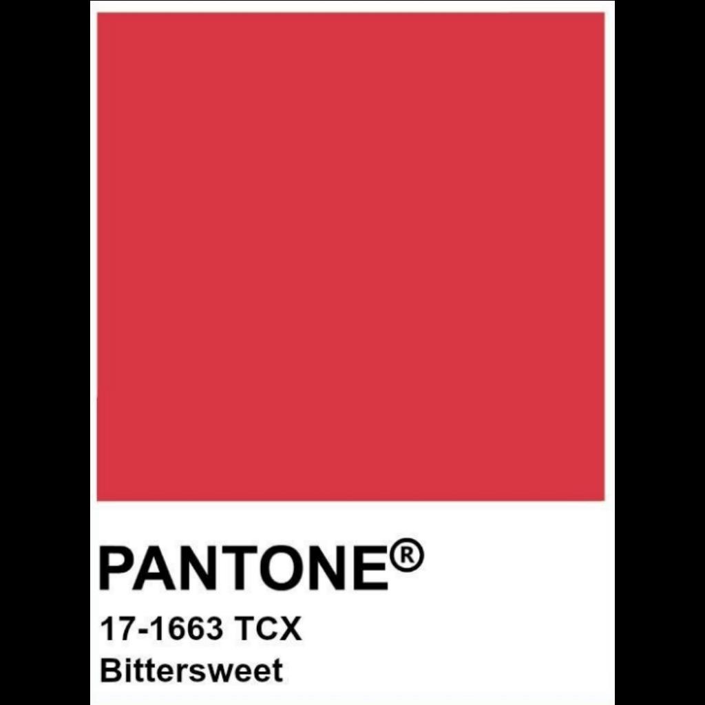 #pantone #pantonered #bittersweet #pantonebittersweet #brightred #redaesthetic