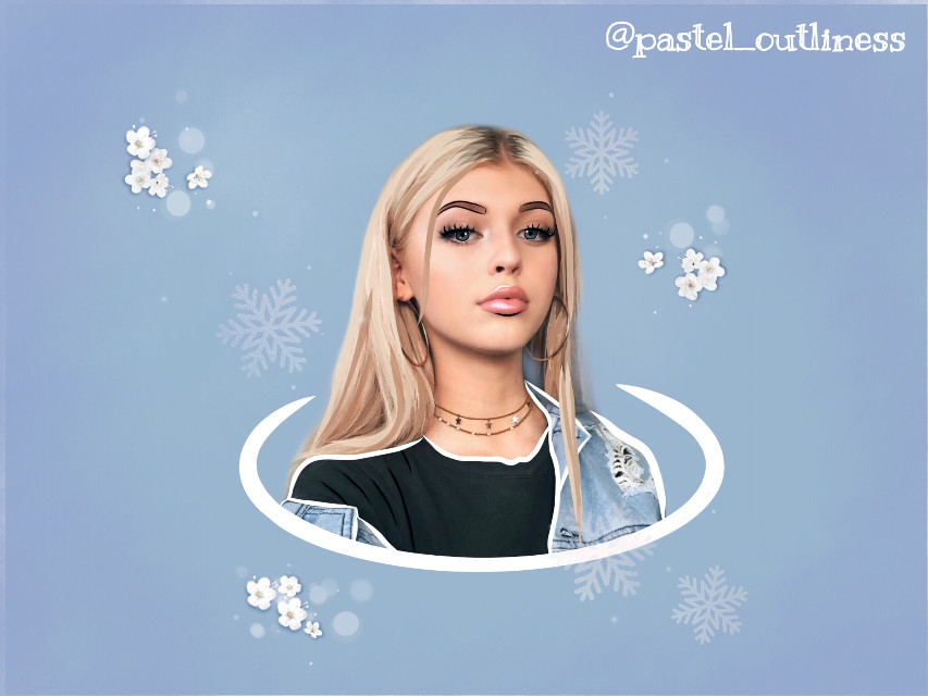 ~~First Post~~ LOREN GRAY Created on: Adobe Draw and Sketch  #freetoedit #outlines #drawing #lorengray