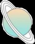 planet sticker aesthetic freetoedit