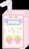 strawberry milkcarton freetoedit