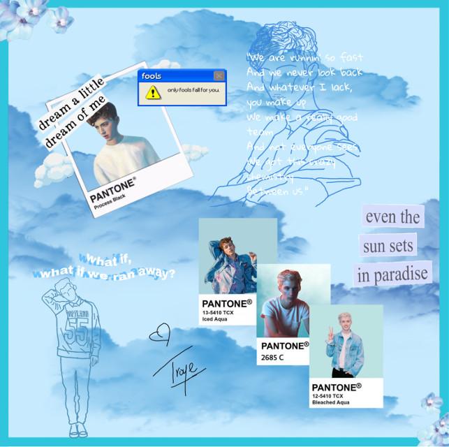 #troysivan #troysivancollage #troysivanedit #troy #sivan #collage #blueaesthetic #blue #aesthetic #collage #freetoedit