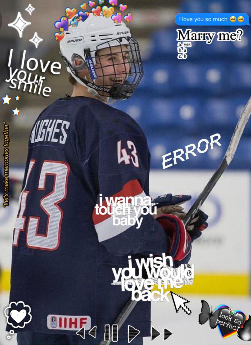 #hockey #jackhughes #devils  Man, I love him so much🥺  -tag list: @something-random @evildonuts @jkllllllllllllllll @schnappwolfhard  -To join tag list: 💗 -To leave: 🦋 #freetoedit