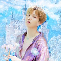 freetoedit minyoongi suga king snow