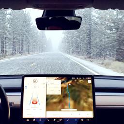 snowday drive winter freetoedit