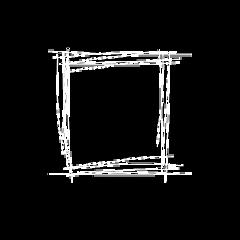 border simple white square aesthetic freetoedit