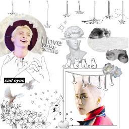kimjonghyun shinee whiteaesthetic rosesforjonghyun freetoedit