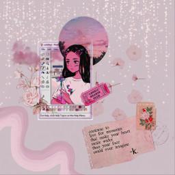 pink aesthetic pinkaesthetic aestheticedit edit freetoedit srcrememberingpaint rememberingpaint