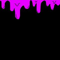 slime aesthetic pink tumblr border freetoedit