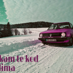 golf2 tara mountain oldtimer winter