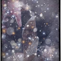 freetoedit crystal colourful pink galaxy