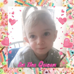 freetoedit queen toddler girl cute
