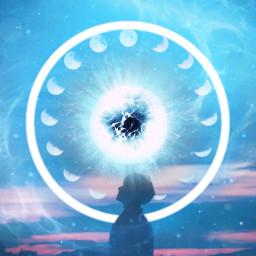 freetoedit vipaziz blue boy moon