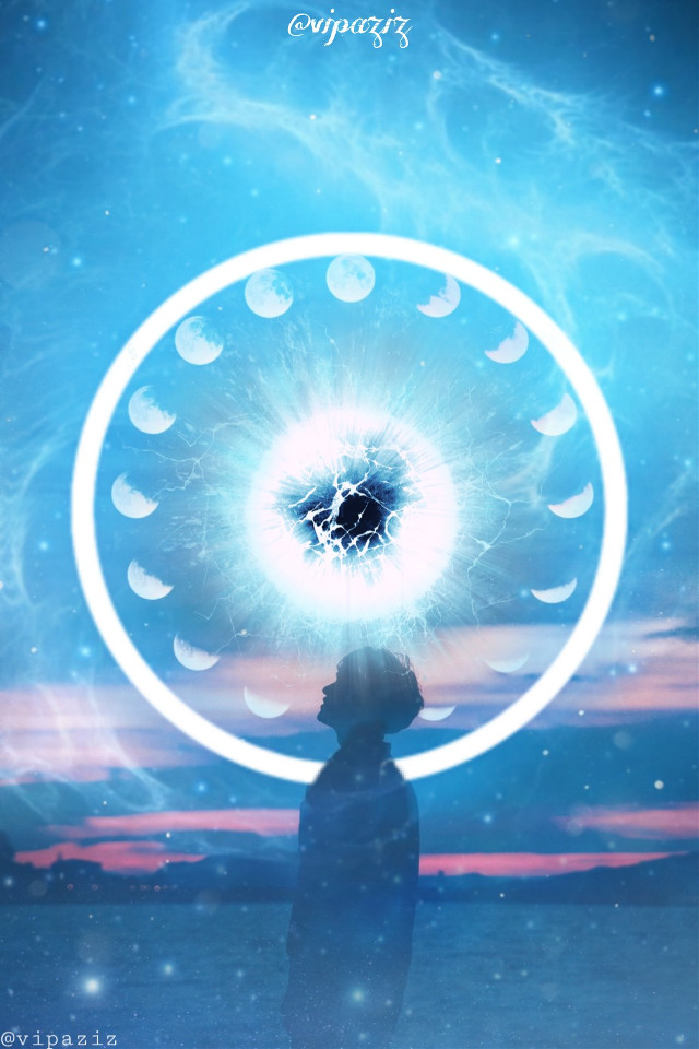 . .       #freetoedit #vipaziz #blue #boy #moon #Circle #bluecircle #boys #wallpaper #wallpaperforphones