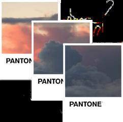 pantone aestheticedit aesthetic clouds sunset freetoedit