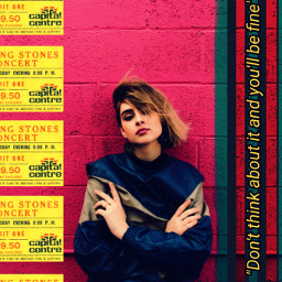freetoedit girl wall ticket