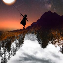 freetoedit creative madewithpicsart picsart imagination surreal fantasy universe tumblr remixed remixit
