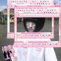 y2k pinkgrunge people freetoedit