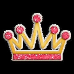 crown queen princess pink heart freetoedit