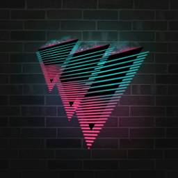 freetoedit background triangle neon 4asno4i ftestickers scneons