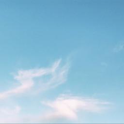 blue sky interesting inspiration photography freetoedit