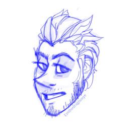 drawing art face beard facialhair