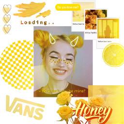 yellowaesthetic yellow aesthetic freetoedit