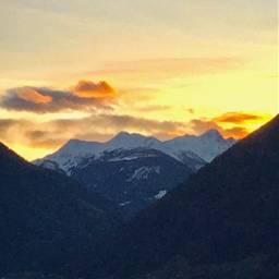 interesting photography mountains sun sonnenuntergang