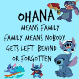 freetoedit stitch lilo liloandstitch ohanameansfamily