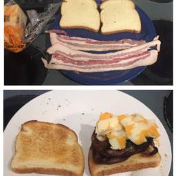 funny followme bacon fastmeal yum