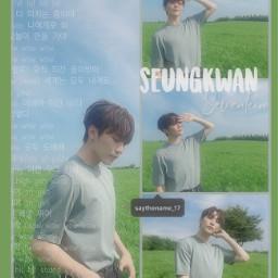 seungkwan booseungkwan seventeen seventeenkpop seventeenseungkwan freetoedit