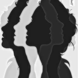 celebratingwomen blackandwhite fantasyart imagination madewithpicsart freetoedit