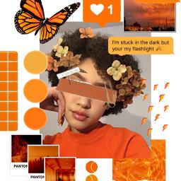 orangeaesthetic oranges orangegirl freetoedit