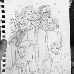 interesting art drawings myfamily sketch