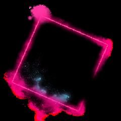 neon square romb splash 4asno4i ftestickers freetoedit
