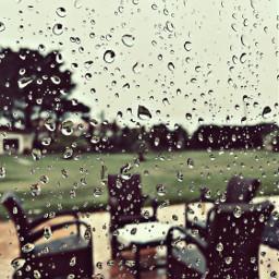 pcfrommywindow viewfrommywindow cloudyweather rainyday raindropsonwindow freetoedit