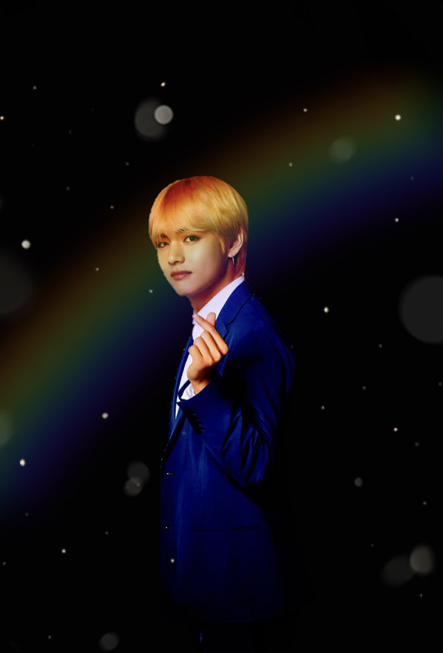 ✨V✨ -Black rainbow edit 🌈    #bts #BTSV #V #VBTS #KimTaehyung  Like, comment or remix if you are a true army 💜