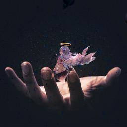 space angel challenge imageremixchallenge imageremix freetoedit ircuniverseinyourhand universeinyourhand
