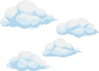 pixels pixelart aesthetic clouds angel freetoedit