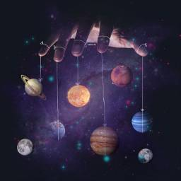 freetoedit planets space galaxy string science ircuniverseinyourhand universeinyourhand