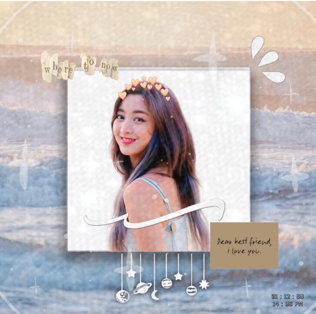Hi guys! I probably will start to post twice every 4 days or eariler.  This reminds me of Jihyo saying bye to her bestfriend before dance the night away lololololl.   —————————- o   Mood: 😕  Weather: cloudss  ——————————  #jihyo #twice #twiceedit #jihyotwice #jihyoedit #twicejihyoedit #beach #aesthetic #beachaesthetic #waves #dancethenightaway