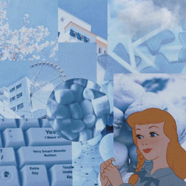 #freetoedit Another collage #aesthetic #aesthetics #retro #vintage #blue #aesthetic #blueaesthetic #mood #moodboard #art #princess #disneyprincess #disney #princess #movie #pastelblue #pastel #blue #babyblue #clouds #food