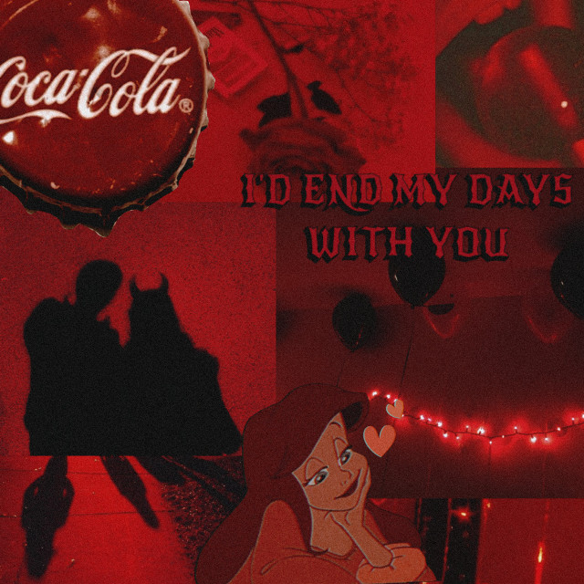 #freetoedit Another one with Disney princesses #aesthetic #aesthetics #retro #vintage #red #aesthetic #redaesthetic #quote #quotes #collage #redcollage #cocacola #rose #lollipop #love #ariel #movie