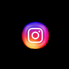 instagram logo icon neon circle freetoedit