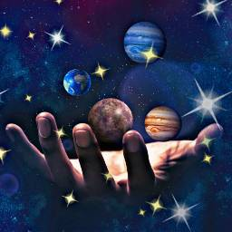 freetoedit planets stars space magic ircuniverseinyourhand universeinyourhand