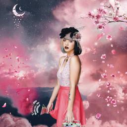 freetoedit befree melaniemartinez cherryblossoms pink