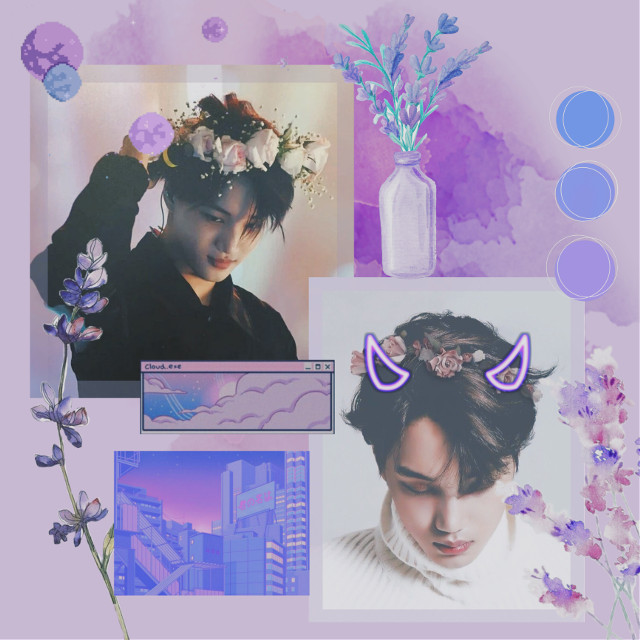"""💜🍬k.a.i🍬💜   -""""don't think about it and you'll be fine""""-   hastags!- #kai #aesthetic #purple #lavender #exo #superm #pixel #freetoedit   hey guys! ive wanted to ask you if there are groups that you recomend for me and who you would like me to do next! thank you so much!💜"""