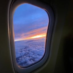 freetoedit window sky clouds sunrise