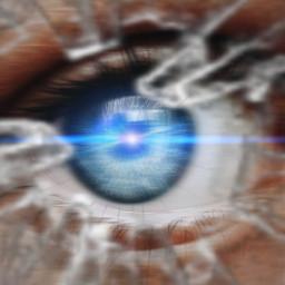 eye cracks lazereyes mycreativity mypower freetoedit