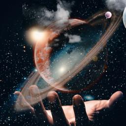 freetoedit ircuniverseinyourhand universeinyourhand galaxy universe